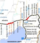 Adana Osmaniye Railway